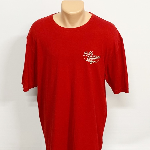 R.M. Williams Other - R.M. Williams | Red Bull Horns Graphic Tee XXL